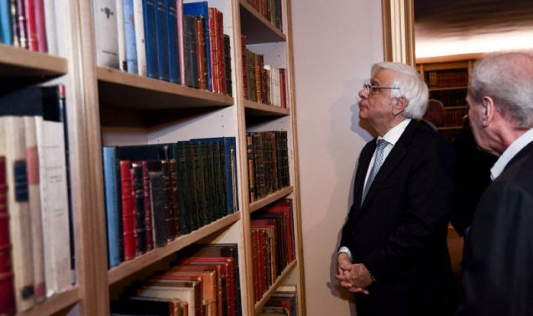 Ο Παυλόπουλος και ο Ιερώνυμος εγκαινίασαν την βιβλιοθήκη της ΕΣΗΕΑ - Προσβάσιμη σε όλους (φωτό-βίντεο) - Κυρίως Φωτογραφία - Gallery - Video
