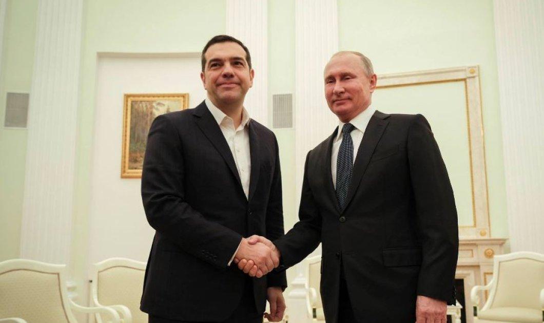 Ο Αλέξης Τσίπρας συναντά τον Βλαντιμίρ Πούτιν: «Σας υποδέχομαι με ευχαρίστηση» είπε ο Ρώσος Πρόεδρος (Φωτό) - Κυρίως Φωτογραφία - Gallery - Video