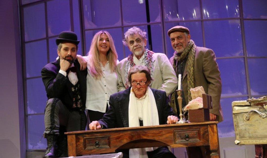 «Τα Χριστούγεννα του Σκρουτζ» επιστρέφουν στο θέατρο Αλίκη μέχρι την Κυριακή 6 Ιανουαρίου 2019   - Κυρίως Φωτογραφία - Gallery - Video