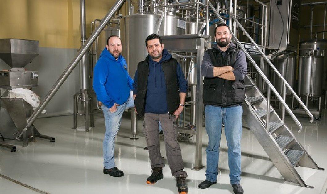 Μade in Greece: Οι τρεις φίλοι και η SKNIPA τους: Η μπίρα τους από την Βόρεια Ελλάδα φτάνει έως την Ιαπωνία - Κυρίως Φωτογραφία - Gallery - Video