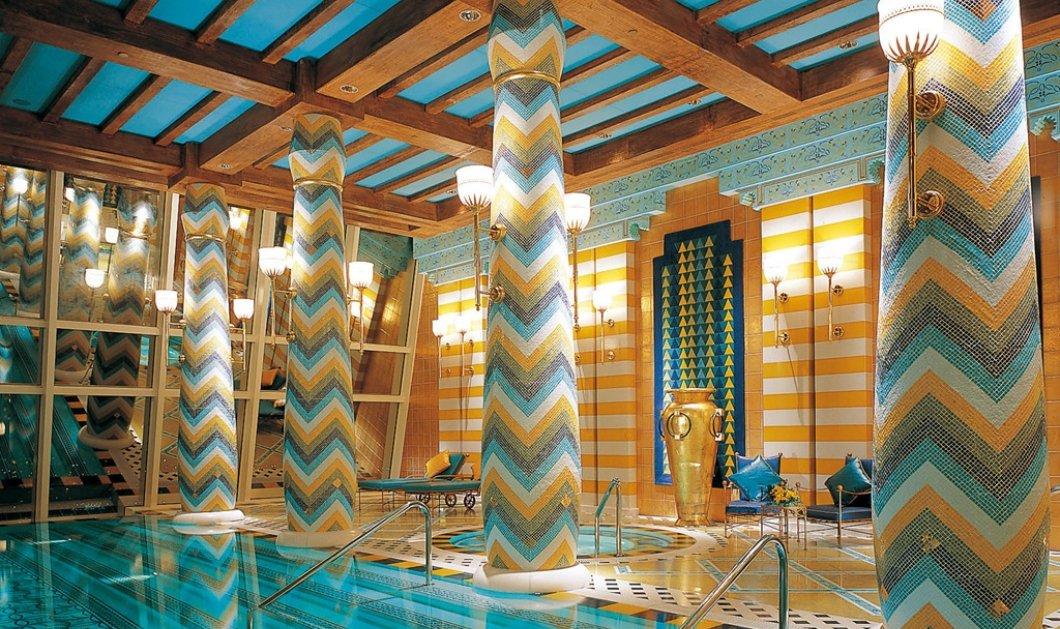 Burj Al Arab: Το θρυλικό ξενοδοχείο στο Ντουμπάι με τις χλιδάτες σουίτες του - 1.500 ευρώ για μια νύχτα - Φώτο & Βίντεο  - Κυρίως Φωτογραφία - Gallery - Video