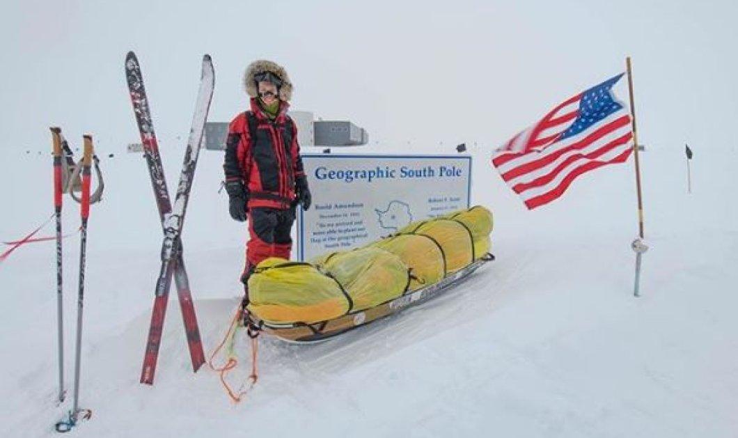 Απίστευτο! Ο Κόλιν Ο' Μπρέιντι διέσχισε ολομόναχος την Ανταρκτική με σκι, χωρίς βοήθεια - Δείτε εικόνες από το ταξίδι του (Φωτό) - Κυρίως Φωτογραφία - Gallery - Video