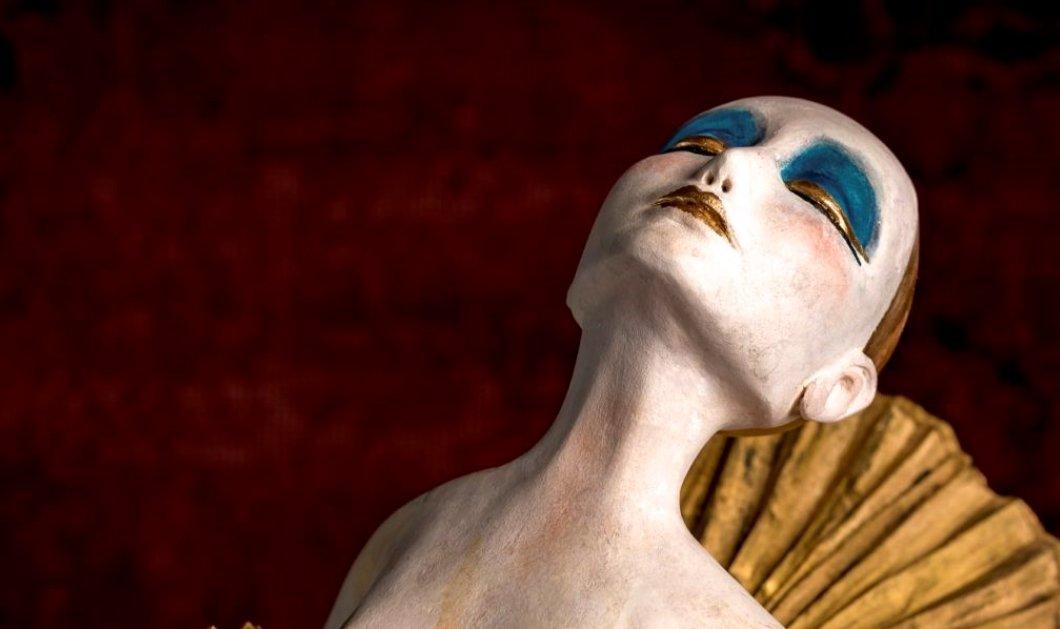 """Μια μοναδική βραδιά στην Evripides Art Gallery για την εντυπωσιακή συνεργασία του Δημήτρη Ντάσιου και της Ιωάννας Παρασκευά """"Guilty Secret The Bizarre Catwalk"""" - Κυρίως Φωτογραφία - Gallery - Video"""