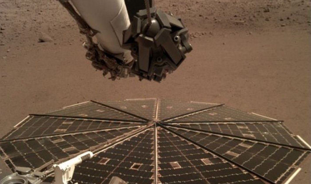 Έτσι ακούγεται ο άνεμος στον Άρη - Ηχογράφηση από το InSight της NASA - Κυρίως Φωτογραφία - Gallery - Video