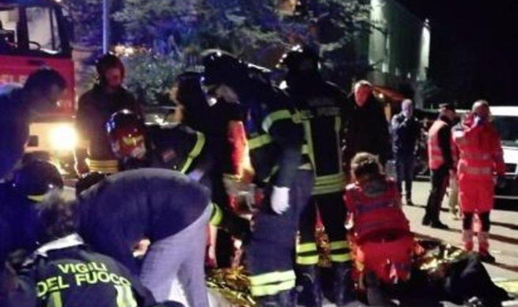 Τραγωδία σε ντισκοτέκ στην Ιταλία: 6 νεκροί -120 τραυματίες - Ποδοπατήθηκαν όταν έπεσε σπρέι πιπεριού (φωτό-βίντεο) - Κυρίως Φωτογραφία - Gallery - Video