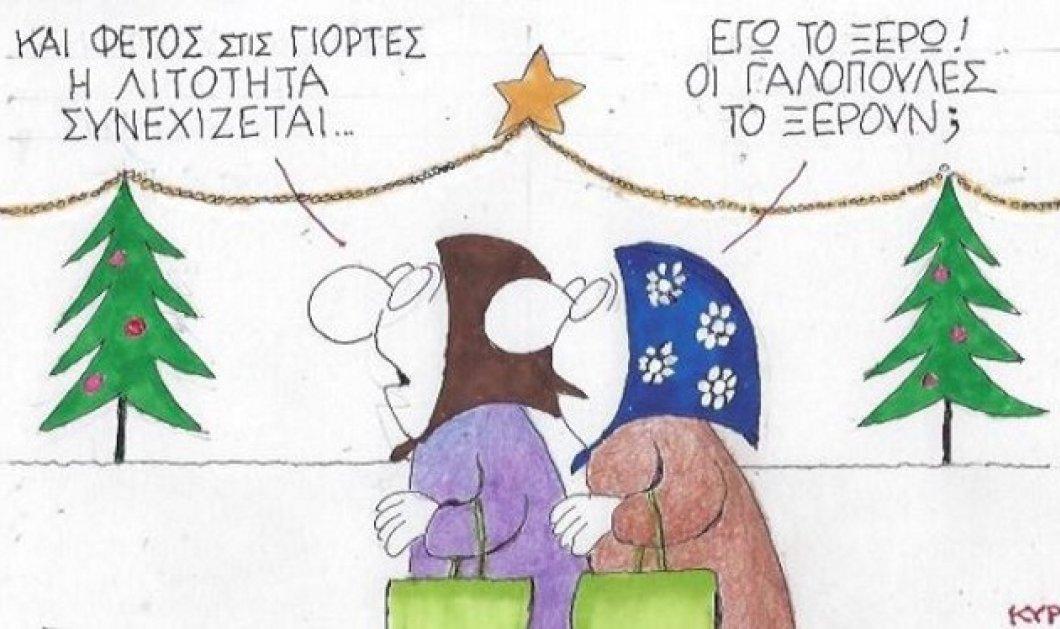 Απολαυστικός ΚΥΡ: Έρχονται Χριστούγεννα αλλά οι γαλοπούλες είναι οι μόνες που δεν ξέρουν τι εστί λιτότητα - Κυρίως Φωτογραφία - Gallery - Video