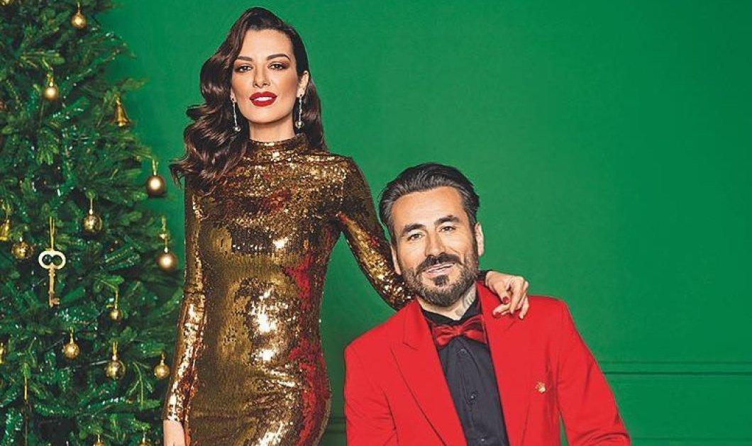 Και ''επίσημο'' ζευγάρι ο Γιώργος Μαυρίδης και η Νικολέττα Ράλλη – Σε χριστουγεννιάτικο εξώφυλλο περιοδικού - Κυρίως Φωτογραφία - Gallery - Video