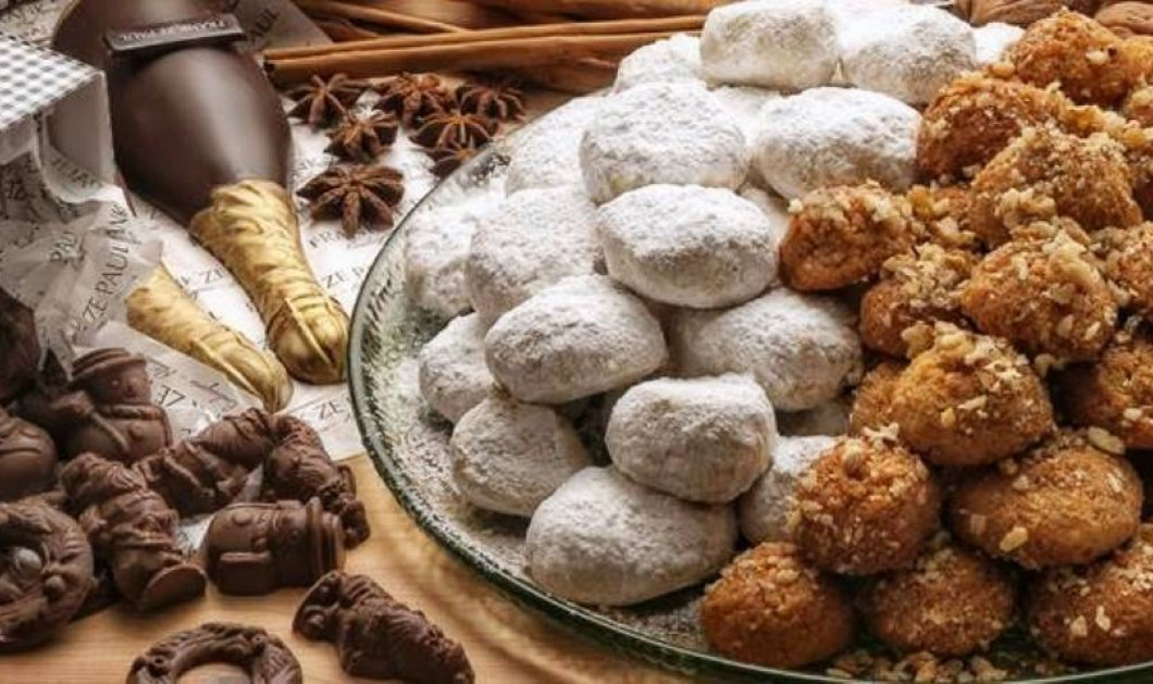 Μελομακάρονα, κουραμπιέδες και δίπλες: Ποιο χριστουγεννιάτικο γλυκό έχει τις περισσότερες θερμίδες; - Κυρίως Φωτογραφία - Gallery - Video