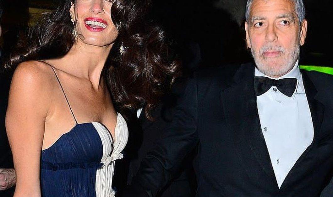 Aμάλ Κλούνεϊ ωραιότερη & πιο σέξι από ποτέ – Τζόρτζ θεούλης με σμόκιν: Που όλα αυτά; - Κυρίως Φωτογραφία - Gallery - Video