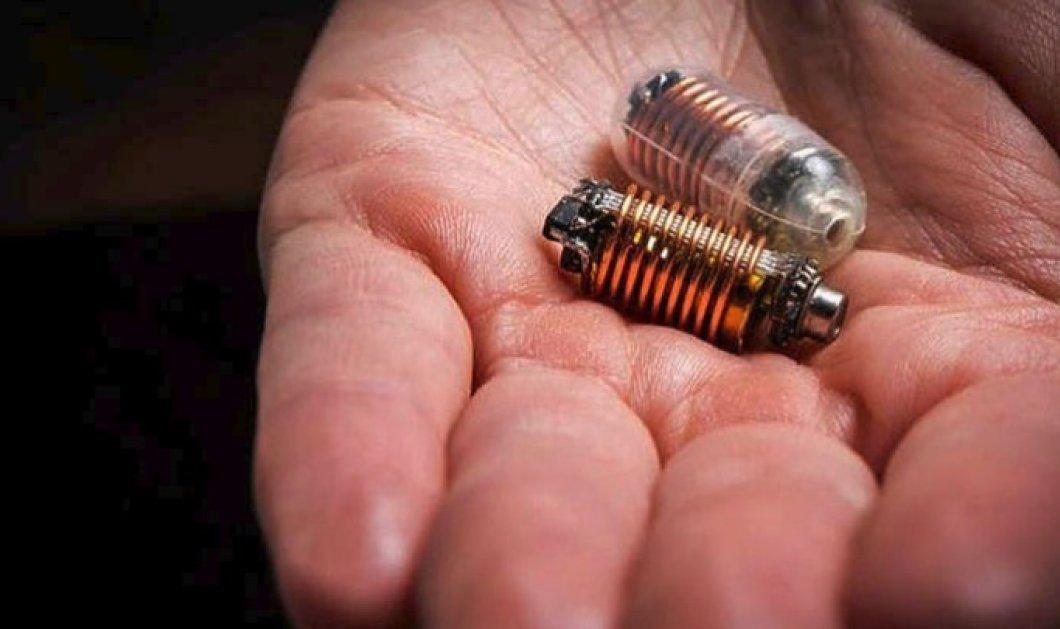 Αυτό είναι το «έξυπνο» χάπι: Το καταπίνουμε και το ελέγχουμε μέσω κινητού τηλεφώνου και Bluetooth! - Κυρίως Φωτογραφία - Gallery - Video