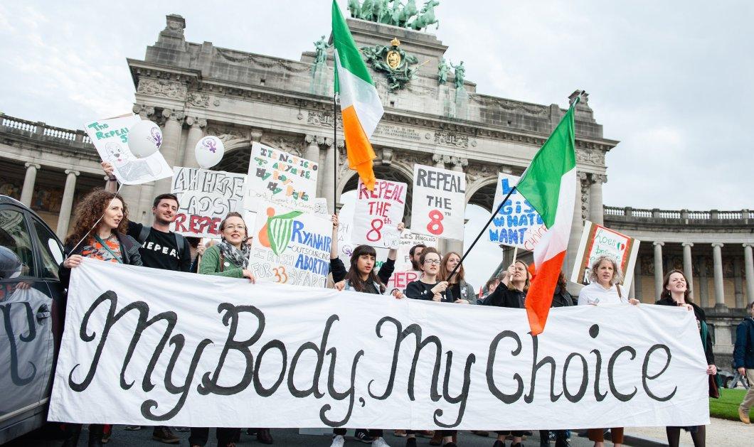 Ιρλανδία: Το κοινοβούλιο ενέκρινε το νομοσχέδιο για τις αμβλώσεις - Είχε γίνει δημοψήφισμα (Φωτό) - Κυρίως Φωτογραφία - Gallery - Video