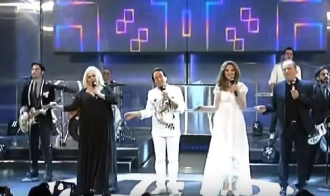"""Όταν η Μαριάννα Τόλη και η χρυσή τετράδα της Eurovision έδωσαν ξανά """"Μάθημα Σολφέζ"""" και μάγεψαν το κοινό (βίντεο) - Κυρίως Φωτογραφία - Gallery - Video"""