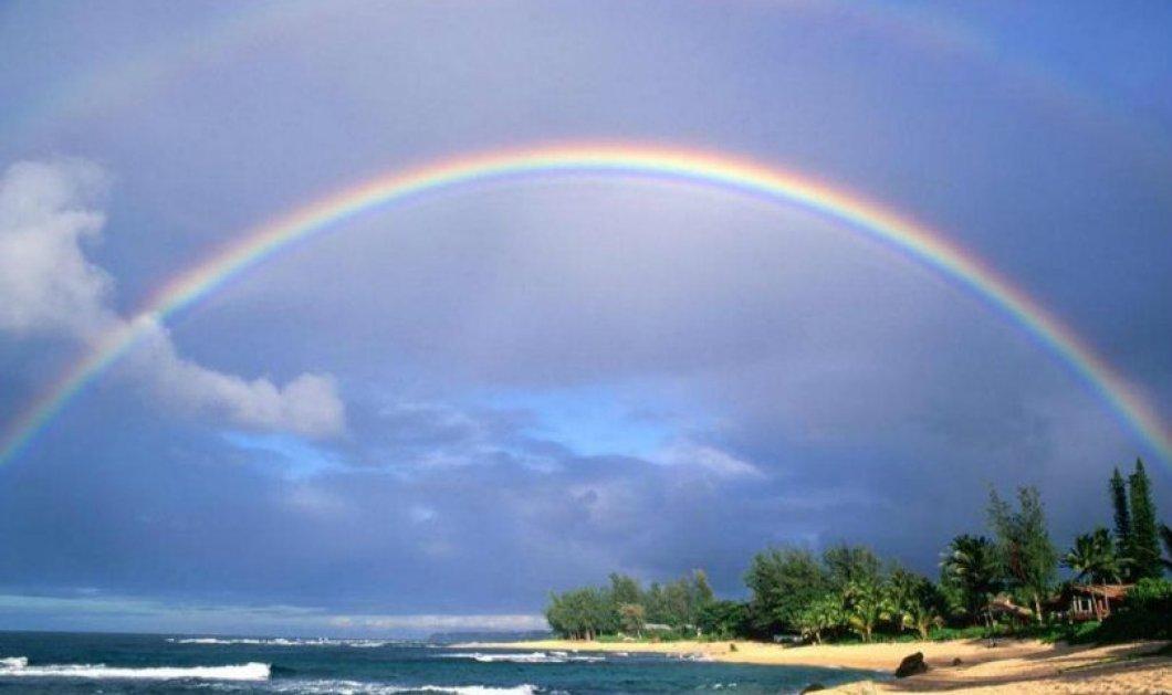 Εσείς γνωρίζετε ποια είναι τα χρώματα του ουράνιου τόξου και με ποια σειρά εμφανίζονται; - Κυρίως Φωτογραφία - Gallery - Video