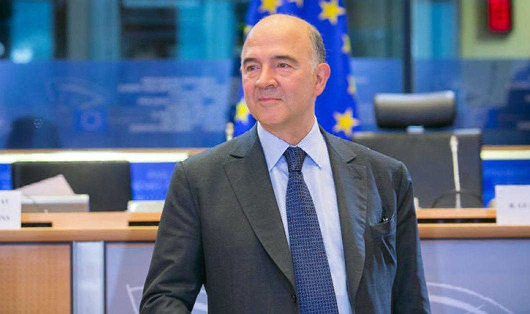 Πιερ Μοσκοβισί: «Η Ελλάδα έχει εκπληρώσει τις δεσμεύσεις της - Ιστορικό το σημερινό Eurogroup» - Κυρίως Φωτογραφία - Gallery - Video