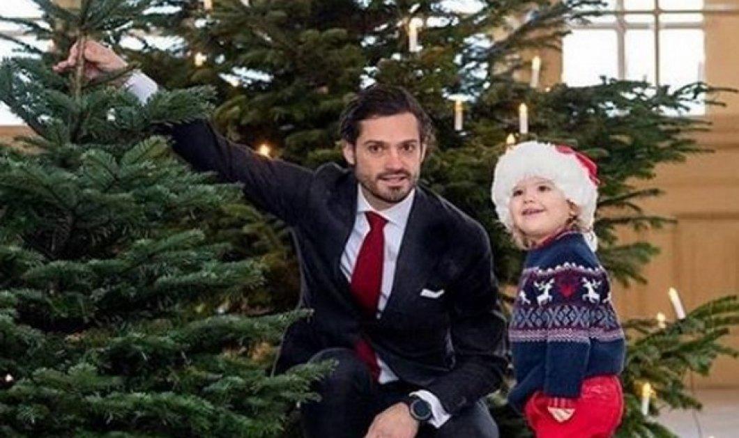 O όμορφος πρίγκιπας της Σουηδίας, Καρλ Φιλίπ, υποδέχθηκε το χριστουγεννιάτικο δέντρο με τον τρισχαριτωμένο γιο του (Φωτό) - Κυρίως Φωτογραφία - Gallery - Video