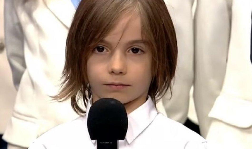 Τελικός «Ελλάδα έχεις ταλέντο»: Η συγκινητική στιγμή που ο 6χρονος Στέλιος Κερασίδης, πιανίστας και παιδί-θαύμα, ήρθε 2ος! (Βίντεο) - Κυρίως Φωτογραφία - Gallery - Video