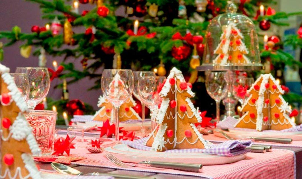 10 εκπληκτικές ιδέες για τη χριστουγεννιάτικη διακόσμηση του τραπεζιού: Να πώς θα «κλέψετε» τις εντυπώσεις (Φωτό) - Κυρίως Φωτογραφία - Gallery - Video