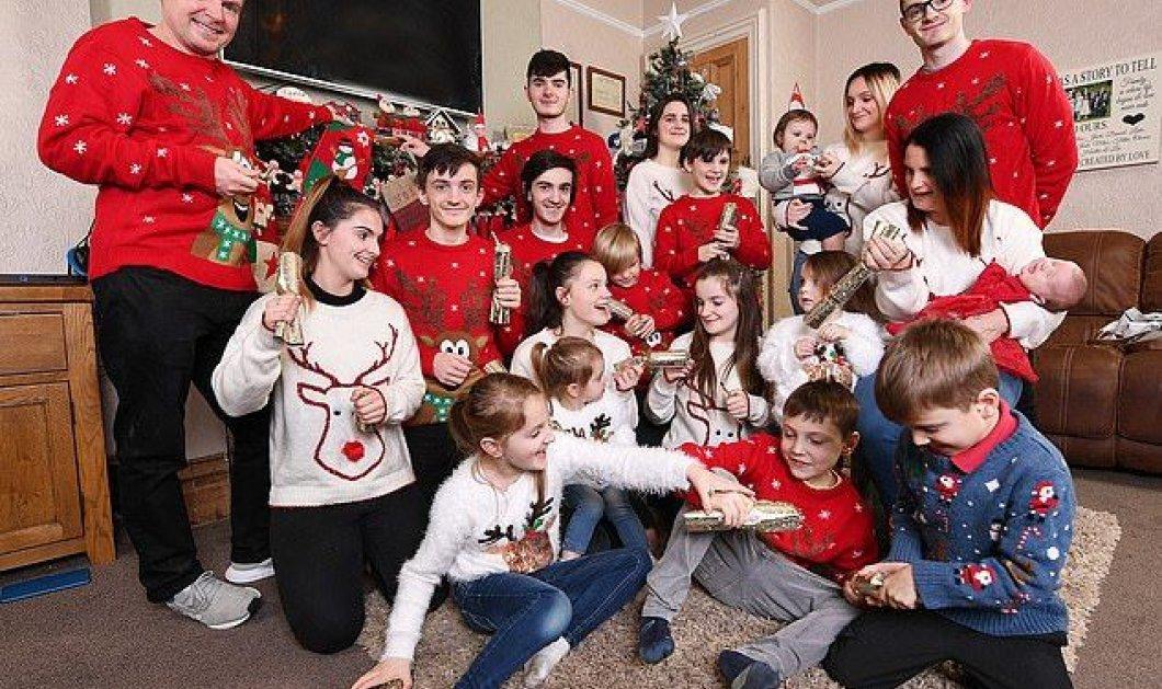 Γνωρίστε την μεγαλύτερη οικογένεια της Βρετανίας - Το 21ο παιδί μόλις γεννήθηκε! - Κυρίως Φωτογραφία - Gallery - Video