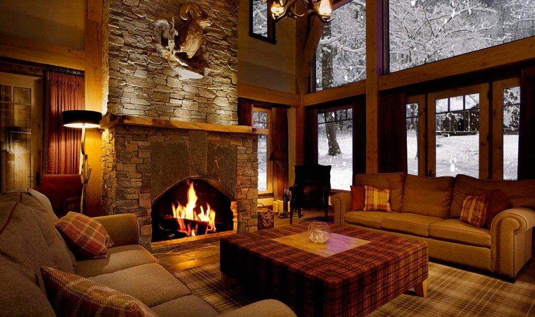 Ο χειμώνας είναι εδώ: 10 υπέροχα τζάκια για να ζεστάνετε το σπίτι σας τις πιο κρύες ημέρες (Φωτό) - Κυρίως Φωτογραφία - Gallery - Video