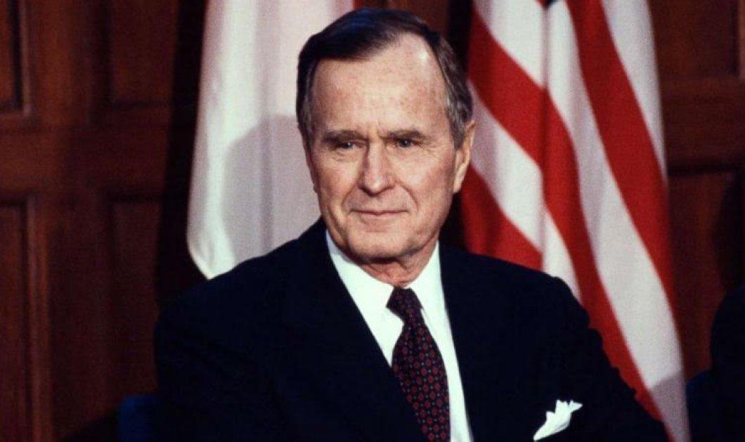 """ΗΠΑ: Πέθανε σε ηλικία 94 ετών ο Τζορτζ Μπους ο πρεσβύτερος - Το """"αντίο"""" των Τραμπ  Ομπάμα & Κλίντον (φωτό)  - Κυρίως Φωτογραφία - Gallery - Video"""