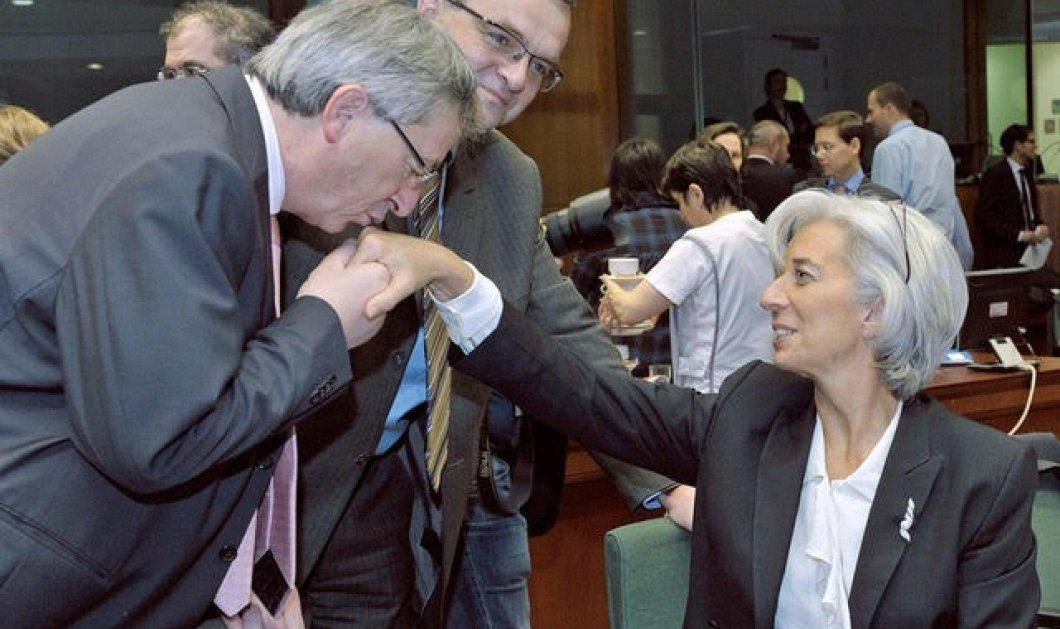 Τα 10 διάσημα φιλιά του Ζαν Κλοντ Γιούνκερ : Σε φαλακρούς μαλιάδες χειροφιλήματα και μες την καλή χαρά (φωτό) - Κυρίως Φωτογραφία - Gallery - Video