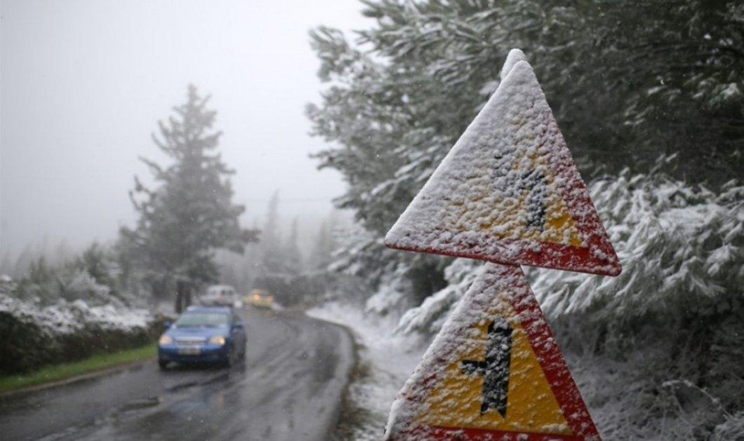 Καλλιάνος: Πλησιάζει κακοκαιρία με βροχές και χιόνια - Κυρίως Φωτογραφία - Gallery - Video