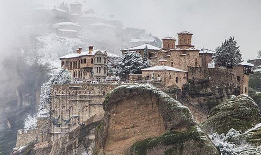 Η Ελλάδα χιονισμένη σε 30 μοναδικές φωτογραφίες που αναδεικνύουν όλη της την ομορφιά - Κυρίως Φωτογραφία - Gallery - Video