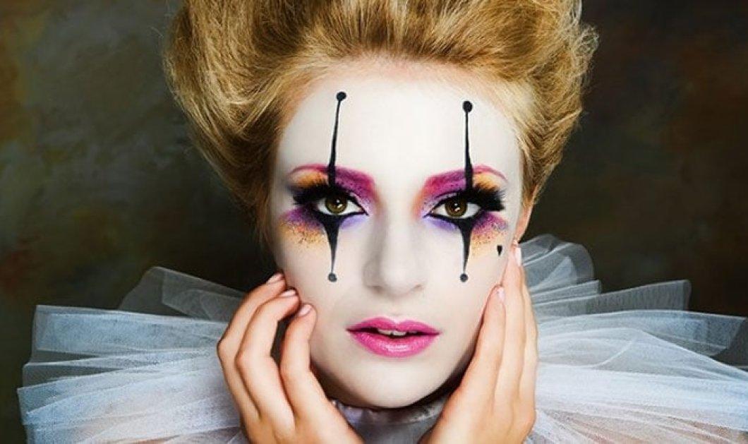 Μακιγιάζ για απόκριες: 20+ υπέροχες ιδέες για να διαλέξεις το make up που σου ταιριάζει - Φώτο & βίντεο   - Κυρίως Φωτογραφία - Gallery - Video