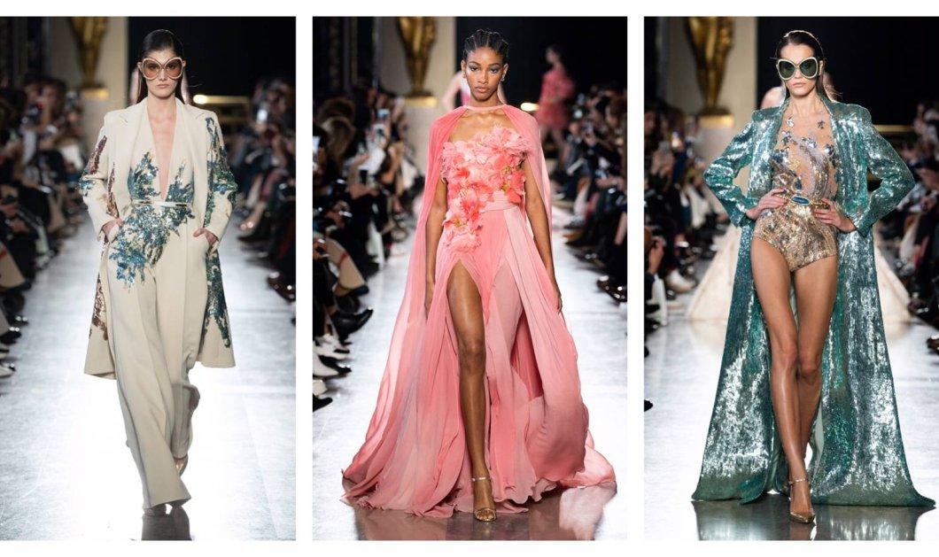 Haute couture: Λαμπερή & αξεπέραστη  η νέα κολεξιόν του Λιβανέζου σχεδιαστή Elie Saab - Φώτο  - Κυρίως Φωτογραφία - Gallery - Video