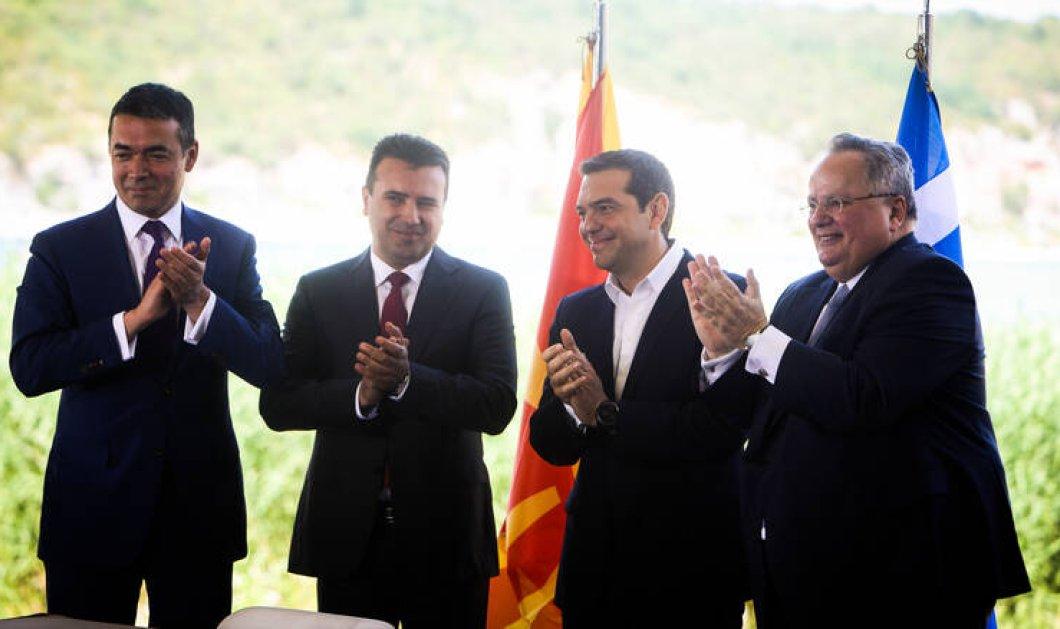"""Συμφωνία των Πρεσπών: Βαίνει προς 152 """"Ναι"""" - Υπέρ και ο Σπύρος Λυκούδης - Κυρίως Φωτογραφία - Gallery - Video"""