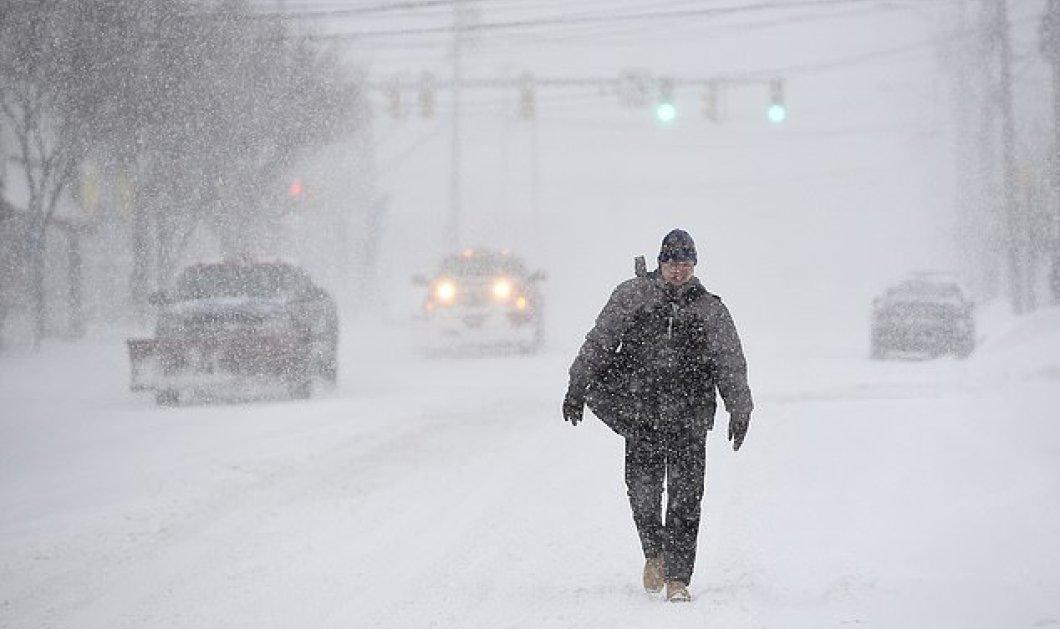 Απίστευτο βίντεο με τα ακραία καιρικά φαινόμενα στις ΗΠΑ: Εικόνες με την χειμερινή καταιγίδα που κατακλύζει τα πάντα      - Κυρίως Φωτογραφία - Gallery - Video