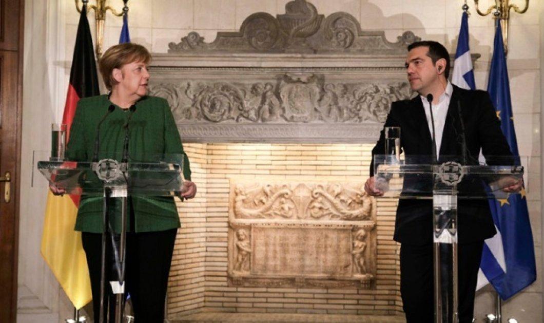 Άνγκελα Μέρκελ: «Είμαι ευγνώμων στον Αλέξη Τσίπρα για τη Συμφωνία των Πρεσπών» (Βίντεο) - Κυρίως Φωτογραφία - Gallery - Video