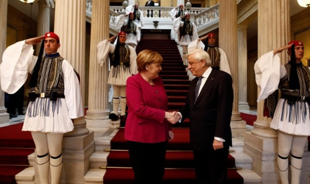 Άνγκελα Μέρκελ: «Η Γερμανία πάντα τόνιζε ότι δεν μπορούμε να αφήσουμε μόνη της την Ελλάδα» (Βίντεο) - Κυρίως Φωτογραφία - Gallery - Video