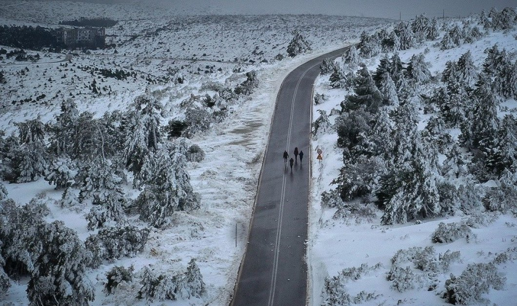 Καιρός: Η «Σοφία» έφερε πολικές θερμοκρασίες – Δείτε που θα χιονίσει, χάρτες και video - Κυρίως Φωτογραφία - Gallery - Video