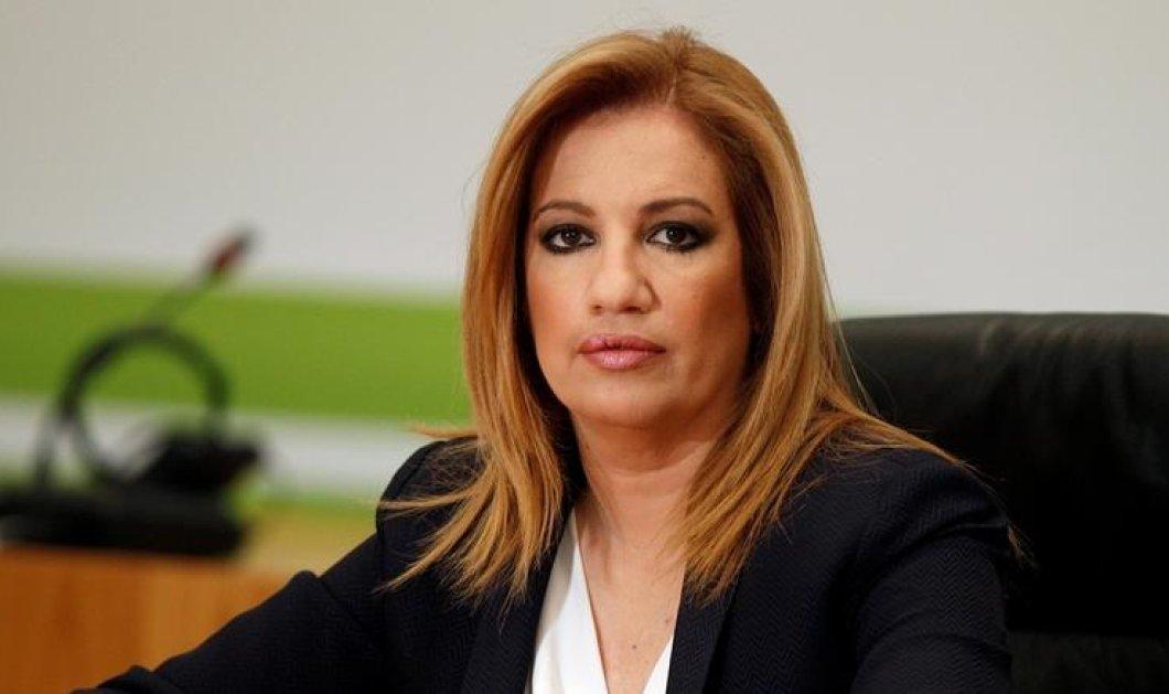 """Φώφη Γεννηματά: """"Όχι"""" στη Συμφωνία των Πρεσπών - Κανείς δεν έχει δικαίωμα να διχάσει ξανά τον ελληνικό λαό - Κυρίως Φωτογραφία - Gallery - Video"""
