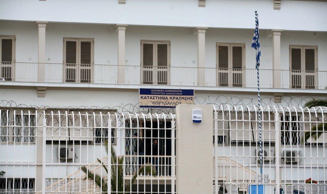 Δύο κρατούμενοι απέδρασαν από τις φυλακές Κορυδαλλού - Πώς το έσκασαν - Κυρίως Φωτογραφία - Gallery - Video