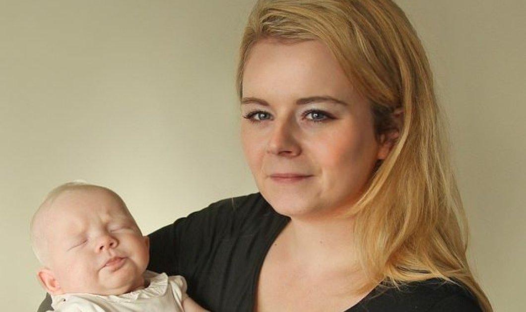 Story of the day: 22χρονη διαγνώσθηκε ως στείρα αλλά ξαφνικά έφερε στον κόσμο ένα μωρό αλμπίνο (φωτό) - Κυρίως Φωτογραφία - Gallery - Video