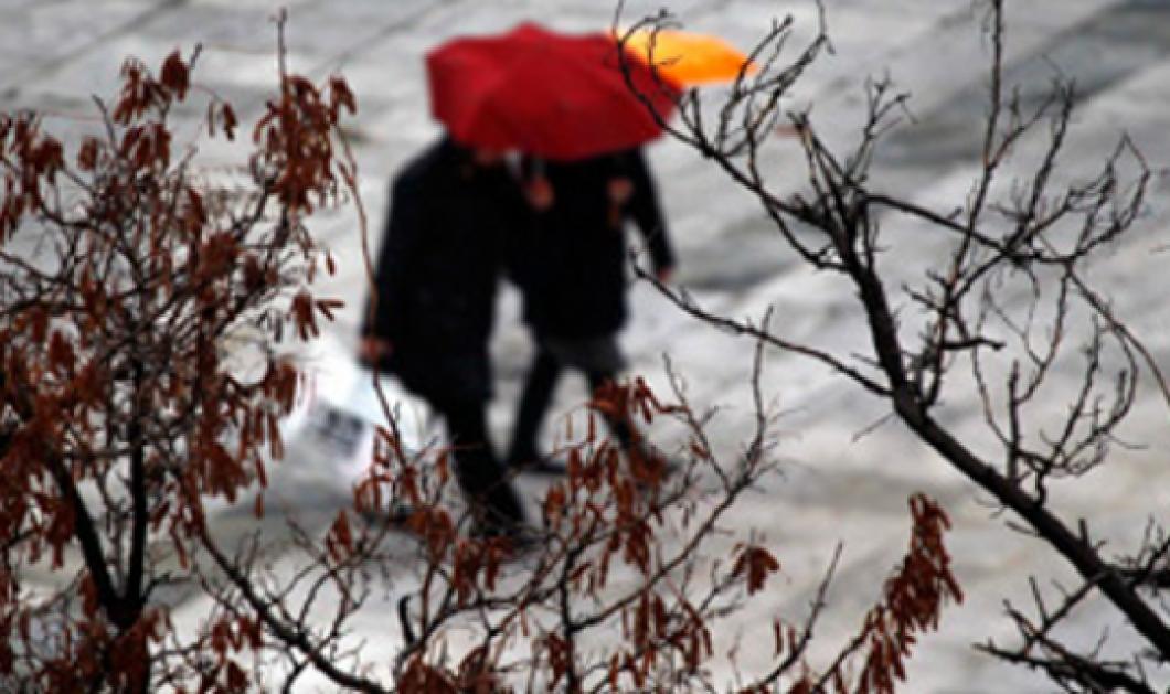 Καιρός: Βροχές καταιγίδες και κρύο σήμερα Σάββατο - Που θα χιονίσει - Κυρίως Φωτογραφία - Gallery - Video