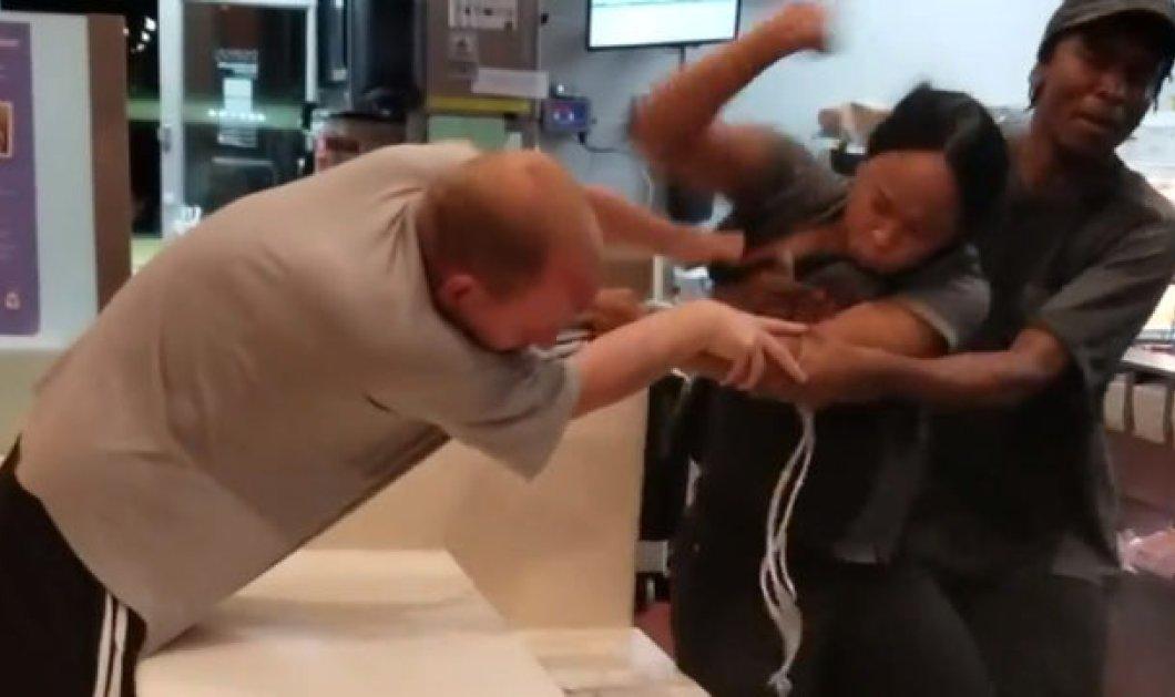 Σοκαριστικό: Άνδρας επιτέθηκε σε υπάλληλο των Mc Donald's για ένα... καλαμάκι (βίντεο) - Κυρίως Φωτογραφία - Gallery - Video