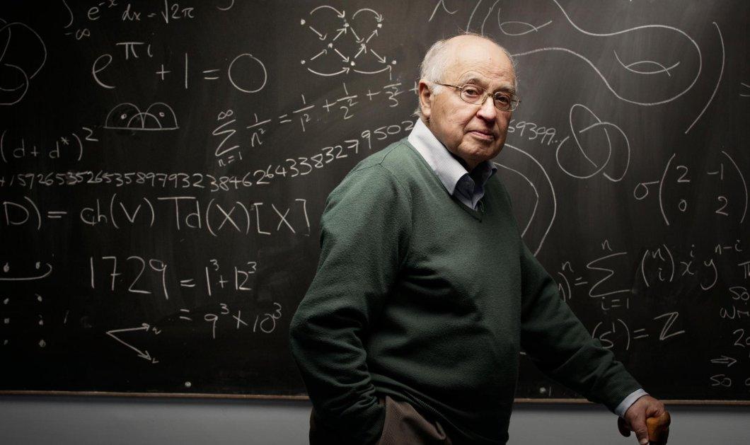 Μάικλ Ατίγια: Ήταν ένας από τους σημαντικότερους μαθηματικούς στον κόσμο - Διάσημος γιατί ένωσε τα μαθηματικά με την φυσική (φώτο) - Κυρίως Φωτογραφία - Gallery - Video