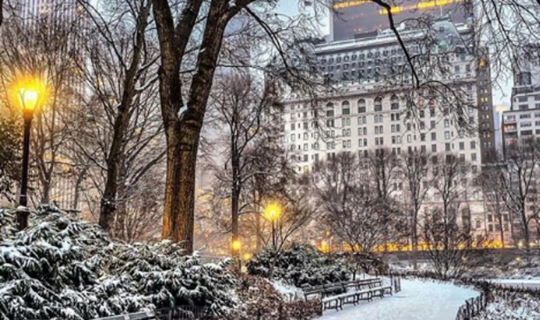 Δείτε συγκλονιστικές φωτογραφίες από την παγωμένη Νέα Υόρκη αλλά και το Σικάγο - Το θερμόμετρο έδειξε -50 βαθμούς Κελσίου (Φωτό) - Κυρίως Φωτογραφία - Gallery - Video