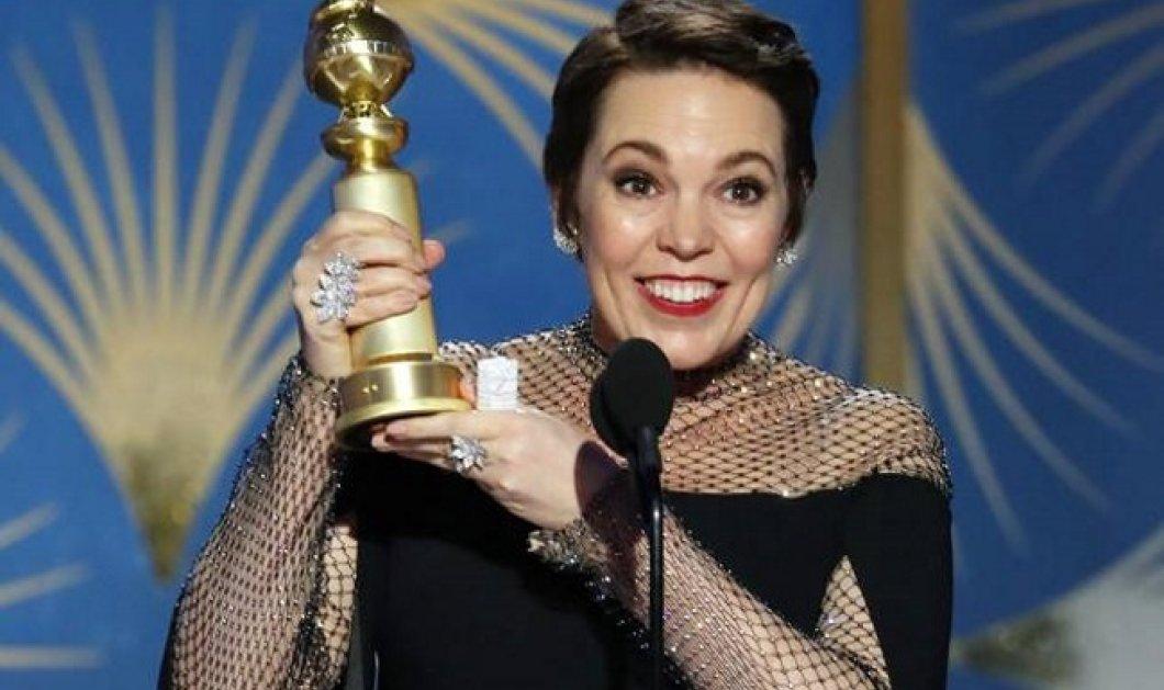 Χρυσές Σφαίρες: Η Ολίβια Κόλμαν του «The Favourite» πήρε βραβείο Α' Γυναικείου Ρόλου - Ευχαρίστησε τον Γιώργο Λάνθιμο - Κυρίως Φωτογραφία - Gallery - Video