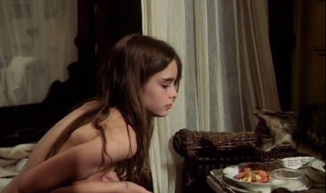 Πολύ αστείο vintage βίντεο: Η Μπρουκ Σιλντς pretty baby μοιράζεται το γάλα με την γάτα - Κυρίως Φωτογραφία - Gallery - Video