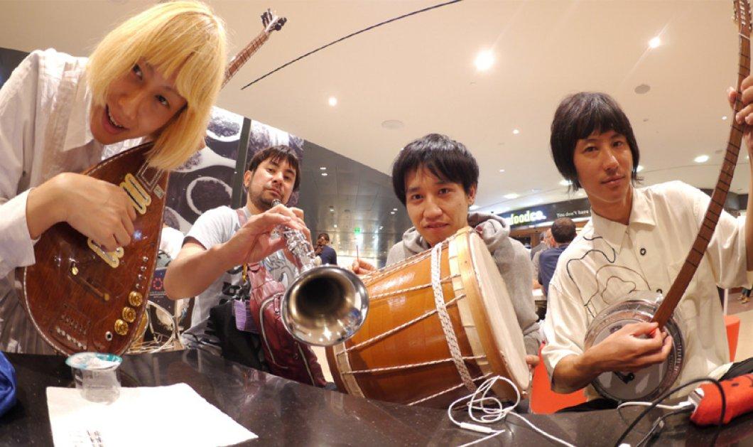 Γιαπωνέζικο συγκρότημα τραγουδά τα «Καγκέλια» και το «Μαρία με τα κίτρινα» και γίνεται viral (Βίντεο) - Κυρίως Φωτογραφία - Gallery - Video