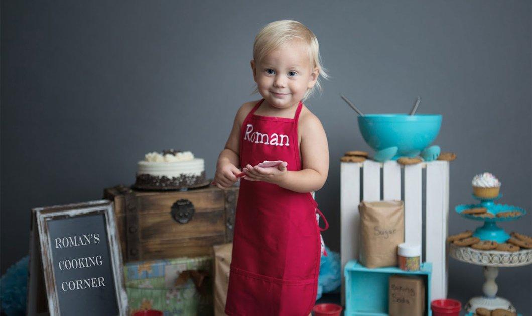 Με λένε Ρομάν είμαι 2 ετών & μαγειρεύω : Ο μίνι σεφ ξετρελαίνει κόσμο στο YouTube (βίντεο) - Κυρίως Φωτογραφία - Gallery - Video