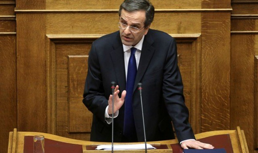 "LIVE: Αντώνης Σαμαράς: ""Η Μακεδονία είναι μία και ελληνική"" - Με τις ομιλίες των πολιτικών αρχηγών συνεχίζεται η συζήτηση στην βουλή (βίντεο) - Κυρίως Φωτογραφία - Gallery - Video"