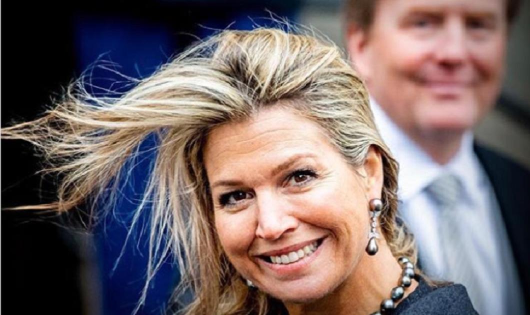 """Βασίλισσα Μάξιμα της Ολλανδίας:""""Άστα τα μαλλάκια σου ανακατωμένα"""" - Έχει κέφια η πρώτη κυρία (φώτο) - Κυρίως Φωτογραφία - Gallery - Video"""