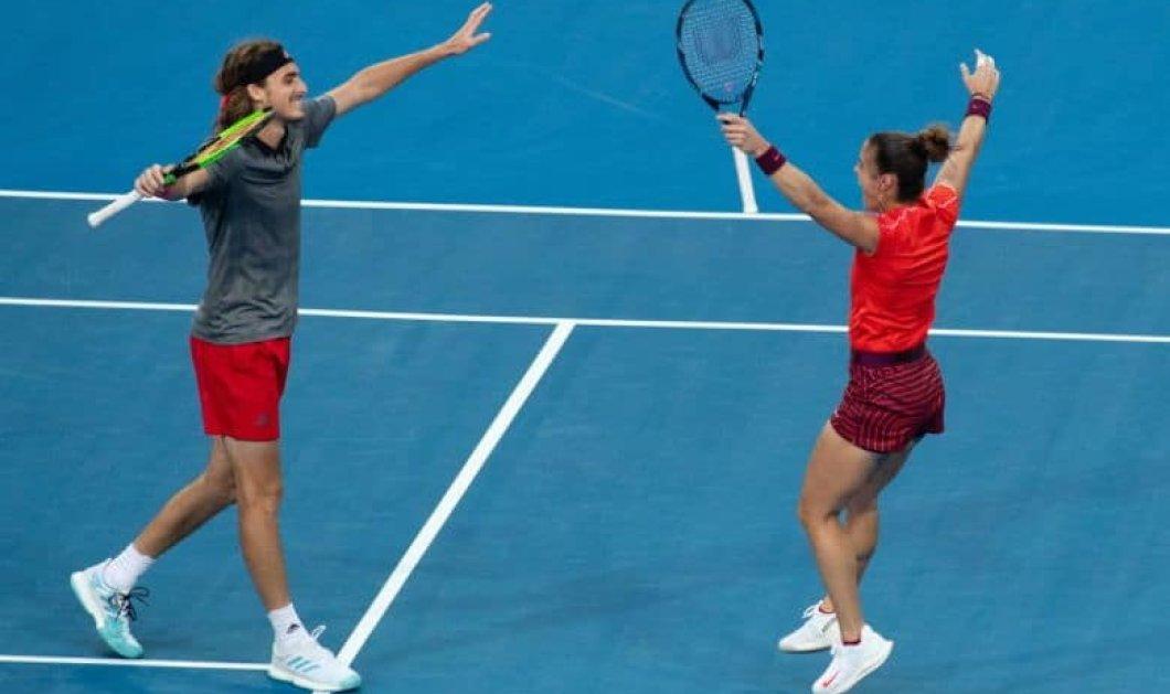 Στέφανος Τσιτσιπάς και Μαρία Σάκκαρη «έγραψαν» ιστορία: Προκρίθηκαν εντυπωσιακά στον 2ο γύρο του Australian Open - Κυρίως Φωτογραφία - Gallery - Video