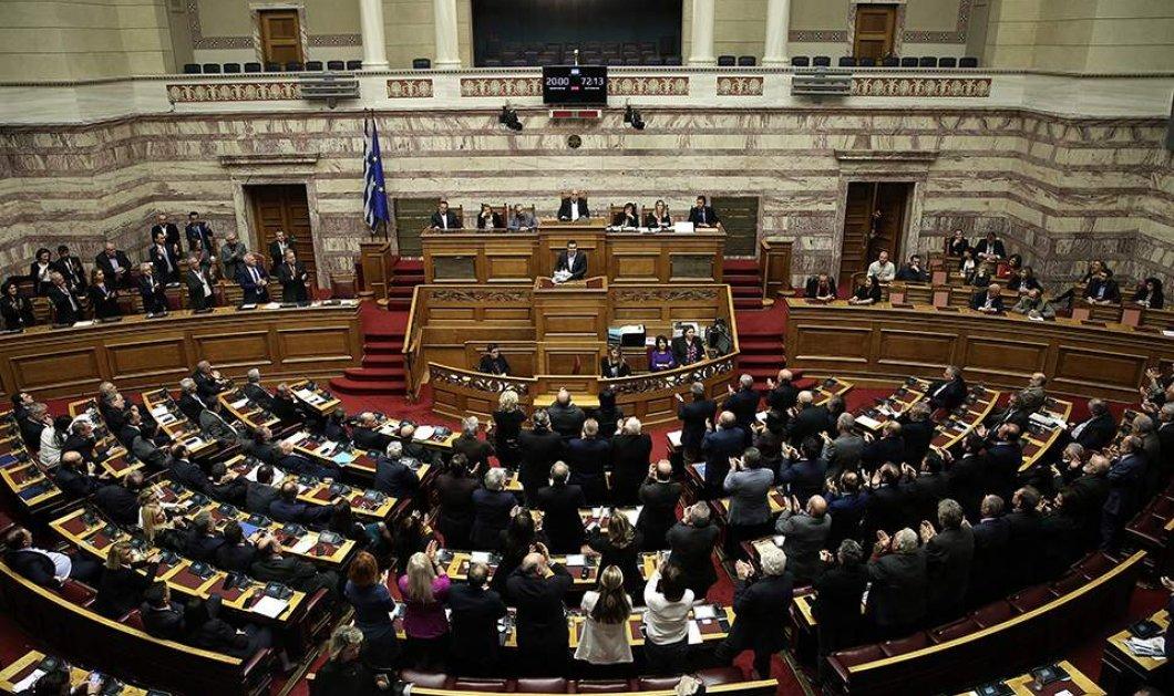 Υπερψηφίστηκε με 153 «ναι» η Συμφωνία των Πρεσπών - Κυρίως Φωτογραφία - Gallery - Video