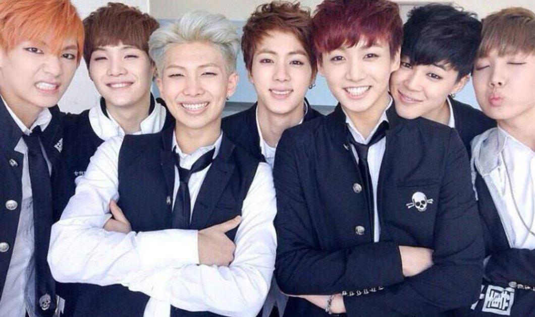 """7 γλυκούληδες Κορεάτες ποπ τραγουδιστές έφτασαν τα 600 εκ. views στο you tube με το βίντεο του """"Dna"""" (βίντεο) - Κυρίως Φωτογραφία - Gallery - Video"""